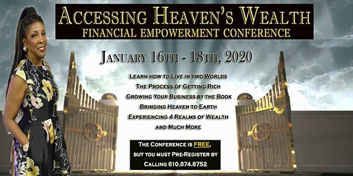 Accessing Heaven's Wealth - Financial Empowerment Conference