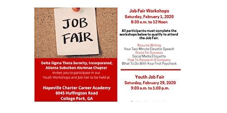 Youth Job Fair Workshop tickets