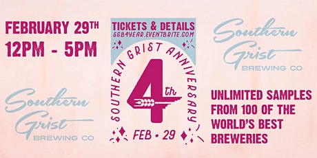 Southern Grist 4th Anniversary Party tickets