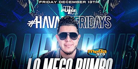 #HAVANAFRIDAYS LA MEGA RUMBA AT HOBOKEN W/ MEGA 97.9 DJ FLOW @COCO HAVANA tickets