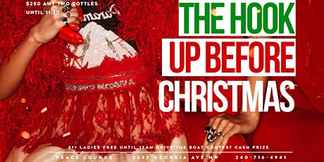 Sip In PEACE Sundays THE HOOK UP BEFORE CHRISTMAS EDITION ! tickets
