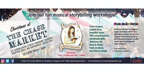 Christmas Storytime with Anna-Christina at The Chase Market tickets