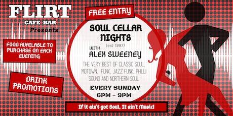 Soul Cellar Nights with DJ Alex Sweeney tickets