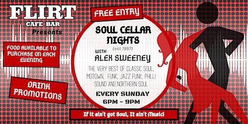 Soul Cellar Nights with DJ Alex Sweeney