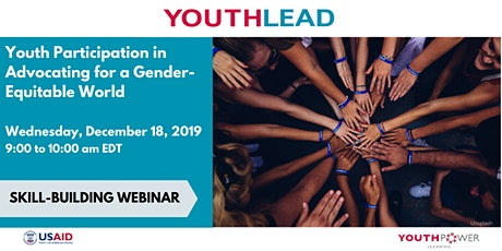 Webinar: Youth Participation in Advocating for a Gender-Equitable World tickets