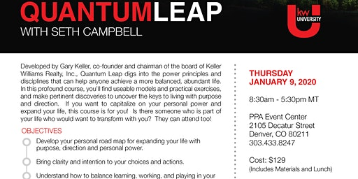 Quantum Leap with Seth Campbell
