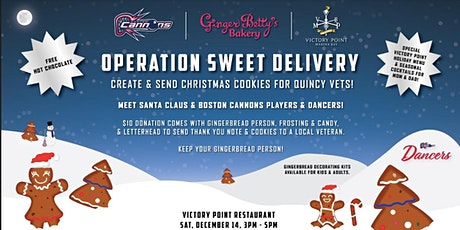 Help send holiday cookies (and thank you notes!) to Quincy veterans tickets