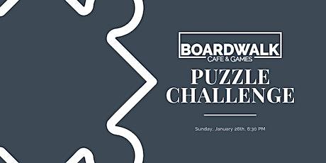 Boardwalk Puzzle Challenge tickets