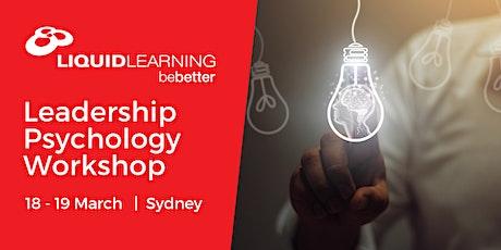 Leadership Psychology Workshop tickets