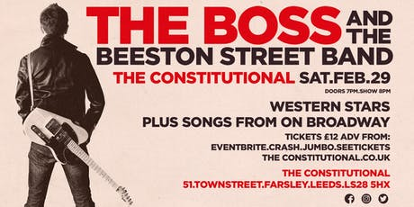 The Boss and The Beeston Street Band tickets