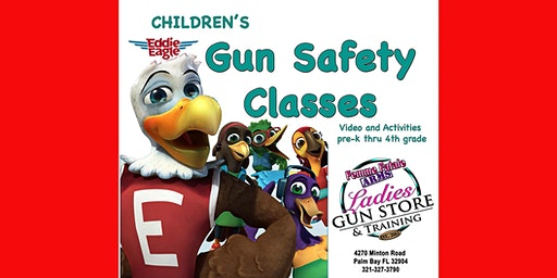 Children's GUN SAFETY Class ages Ages 3-8: February 2020