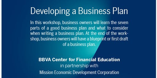 Developing a Business Plan with BBVA Center for Financial Education