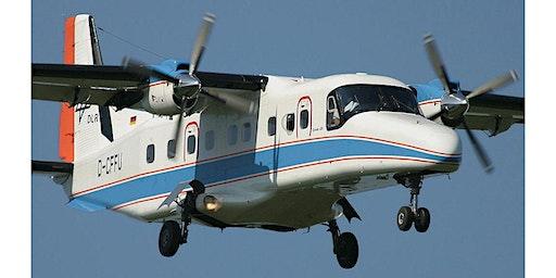 Flugversuche beim DLR mit EC 135, Bo 105, Do 228, VFW 614 und A320