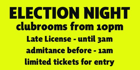 Election night Party @ the SNP club  for members and friends tickets