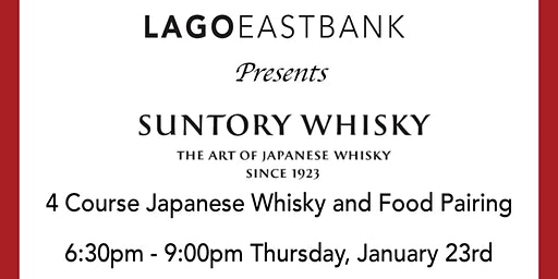 Japanese Whisky Tasting and Food Pairing