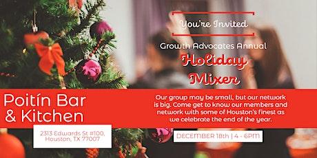 Growth Advocates Holiday Mixer tickets