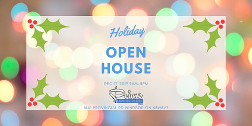 PRIME LIGHTING HOLIDAY OPEN HOUSE