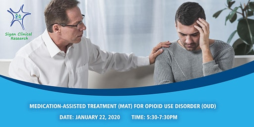 CME / CE - Medication-Assisted Treatment for Opioid Use Disorder
