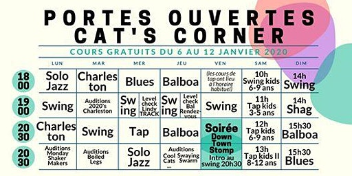 Portes Ouvertes - Cat's Corner - Open House Jan2020