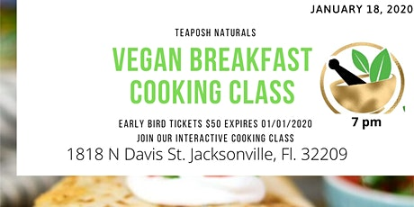 Breakfast Vegan Class  tickets