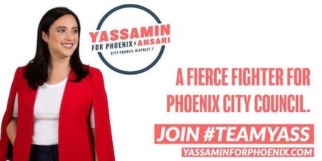 Yassamin Ansari Fundraiser at Manny's! tickets
