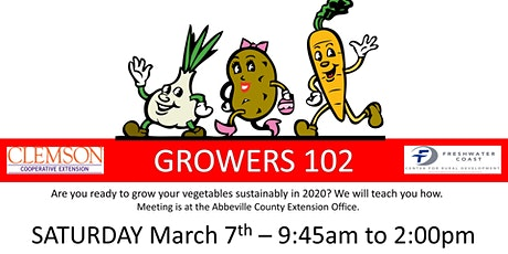 GROWERS 102 tickets