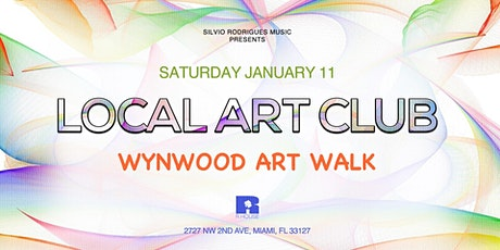 LOCAL ART CLUB - Wynwood Art Walk tickets