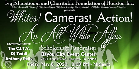 Whites! Cameras! Action!  An All White Affair tickets