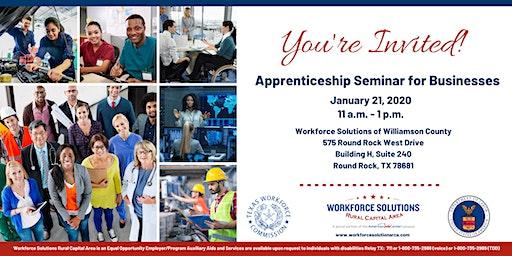 Apprenticeship Seminar for Businesses