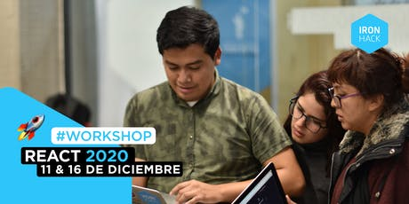[WORKSHOP] - React 2020 entradas