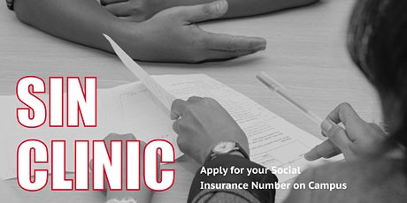 Apply for your Social Insurance Number on campus tickets