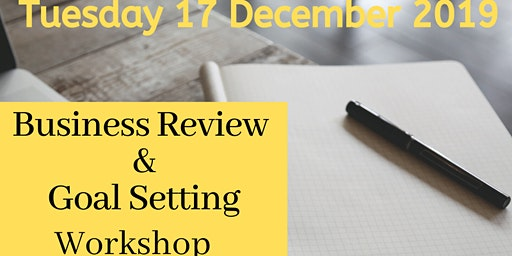 Business Review & Settings Goals - Workshop