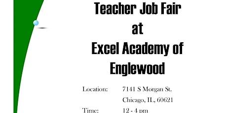 Excel Academy of Englewood High School Teacher's Job Fair tickets