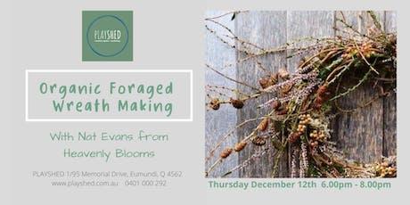 Organic Foraged Wreath Workshop tickets