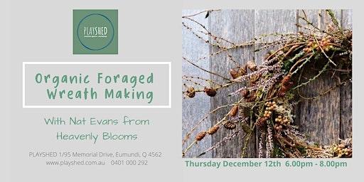 Organic Foraged Wreath Workshop