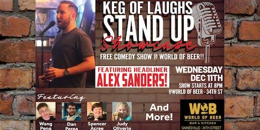 Keg Of Laughs Comedy Showcase