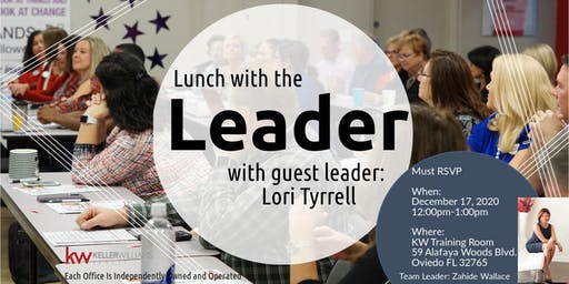 Lunch with the Leader: Lori Tyrrell