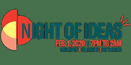 Night of Ideas San Francisco tickets