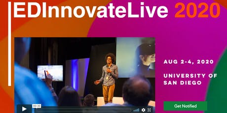 EDInnovateLive 2020 tickets