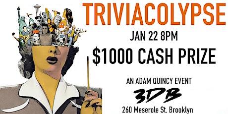 TRIVIACOLYPSE: Trivia Contest tickets