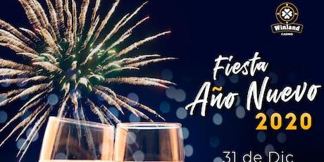 Fiesta Año Nuevo entradas