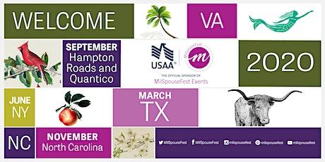 #MilSpouseFest San Antonio 2020 tickets