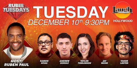 Andrew Schulz, Taylor Tomlinson, Jay Mohr, and more - Rubee Tuesday tickets