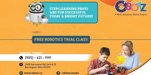 Free Robotics Trial Class