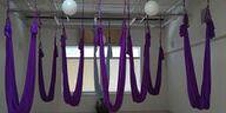 Aerial Yoga: Restore: Slow flow, stretch, restorative tickets