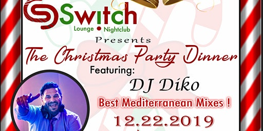 Lebanese Armenian Christmas Party Dinner With Dj Diko At Switch Lounge