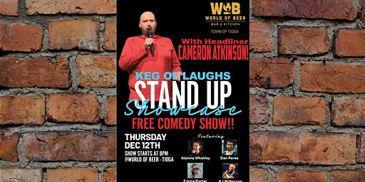 Keg Of Laughs Comedy Night!