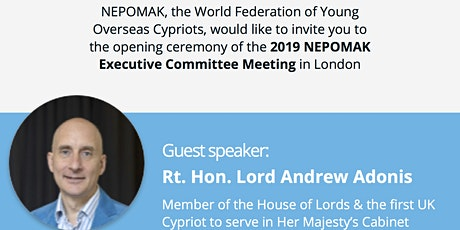 NEPOMAK EC Meeting in London: Opening Ceremony tickets