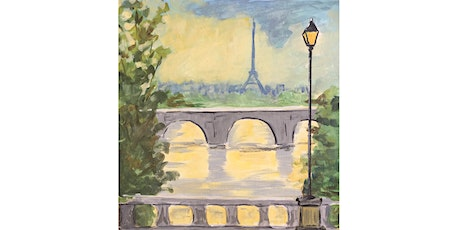 TIX SALES ENDED: Paris After the Rain - Paint and Sip Night - Snacks Included tickets
