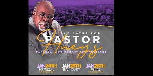 Pastor Claudell Huey Retirement Celebration